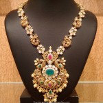 Gold Nakshi Work Haram by NAJ