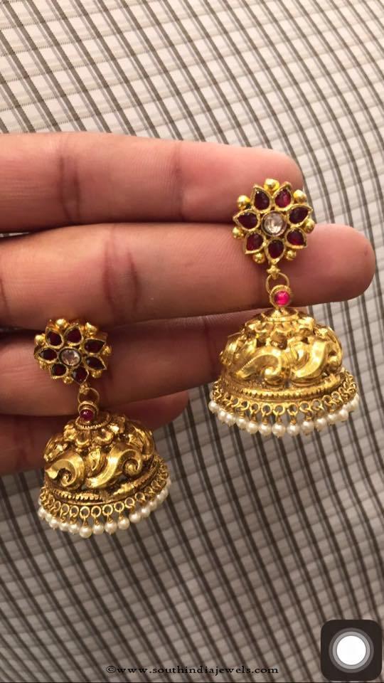 30 Grams Gold Jhumki