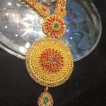 70 Grams Gold Long Necklace From Shubham Jewellers