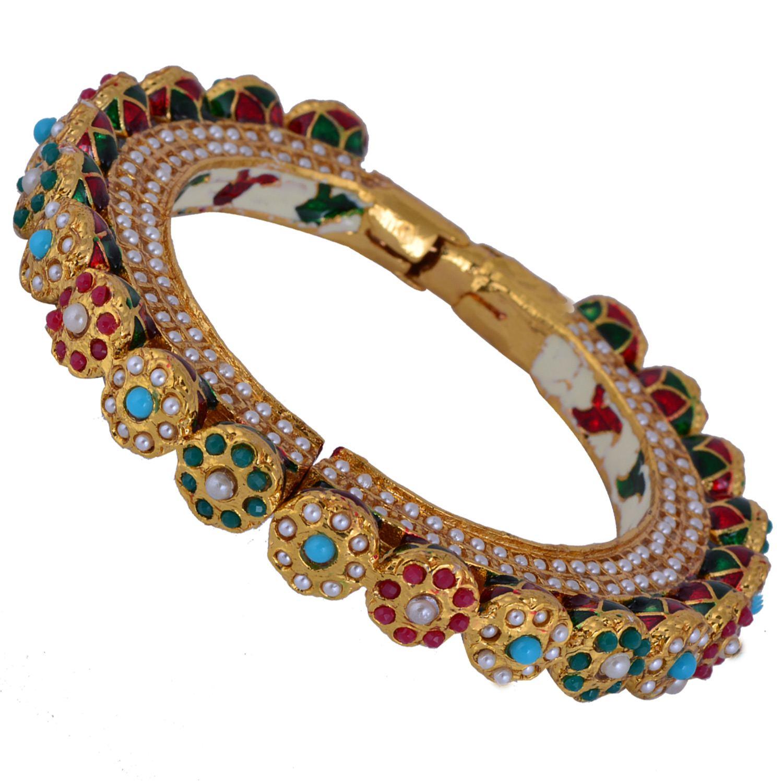 Imitation Kada Bangle From Chaahat Fashion Jewellery South India Jewels