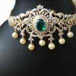 Diamond Choker from Ishwarya Diamonds