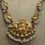 Temple Necklace from Tibarumals Jewellers