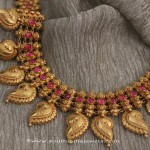 Gold Antique Ruby Necklace from Sayar Jewellery