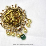 Latest Model Gold Antique Pendant