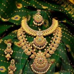 Gold Bridal Jewellery Set from Anagha Jewellery