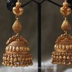Gold Jhumka Design from Sayar Jewellery