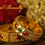 Gold Kundan Bangles From Kalyan Jewellers