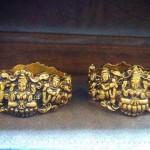 Gold Lakshmi Kada Bangle From Dhanlaxmi Jewellers