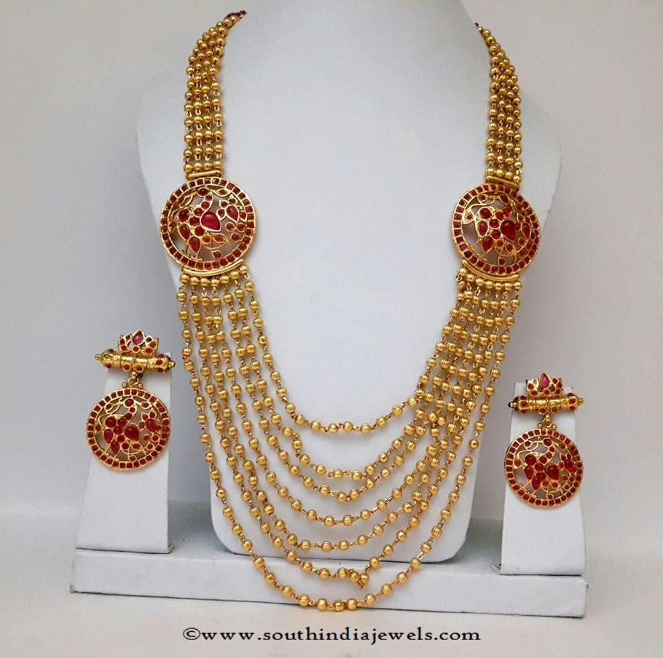 One Gram Gold Multi Layer Haram