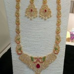 1 Gram Gold Long Necklace from Vanathi