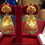 25 Grams Gold Antique Jhumki