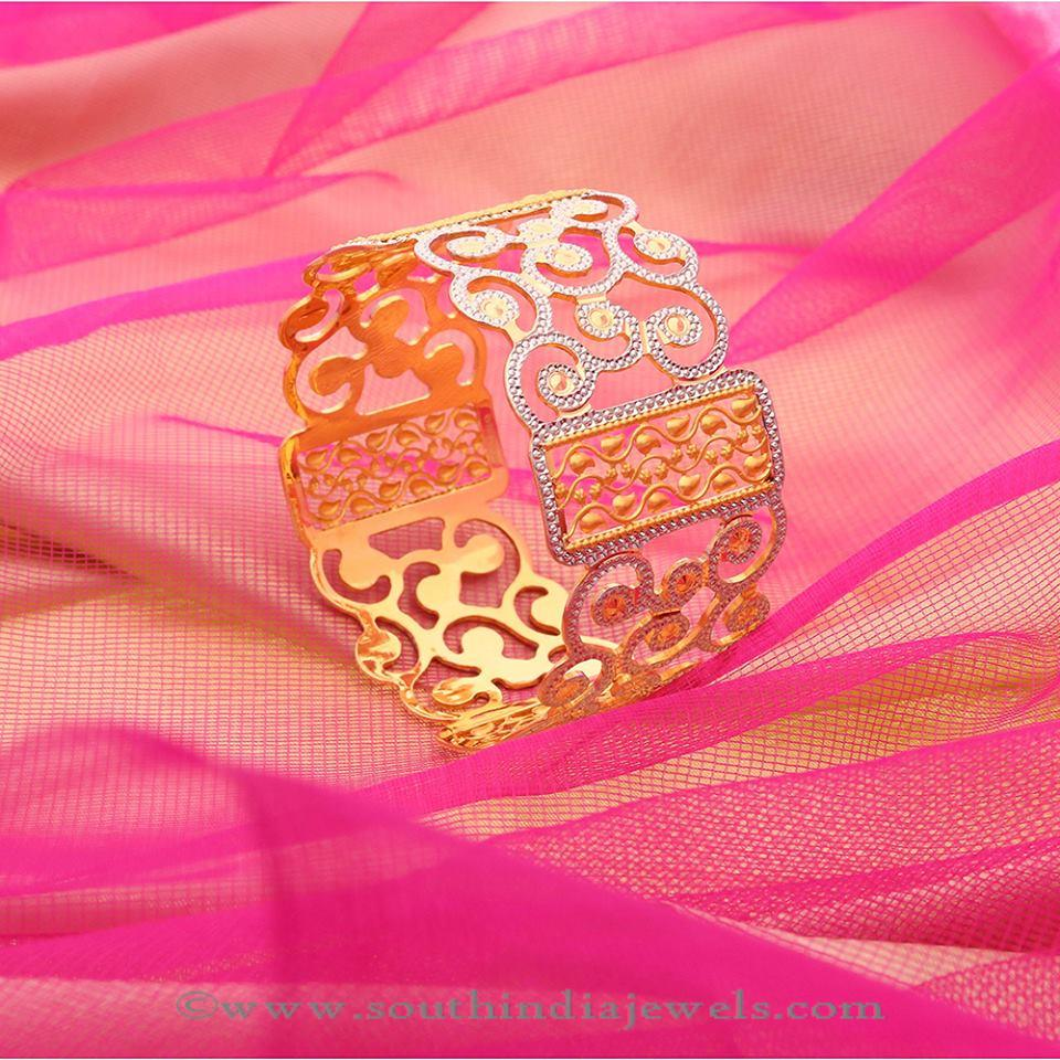 Designer Gold Bangle Designs From Manubhai