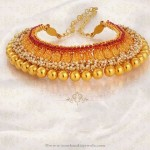 Gold Antique Choker Necklace from Jos Alukkas