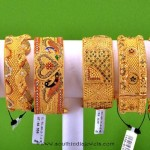 Gold Broad Bangle collections from RMA Jewellery