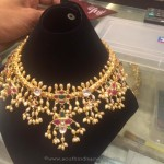 Gold Pearl Necklace Designs