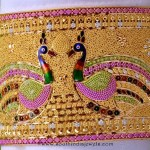 Gold Peacock Bangle From RMA Jewellery