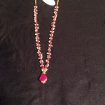 Gold Ruby Necklace Chain Designs