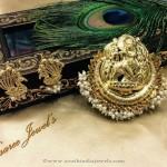 Imitation Krishna Pendant Set