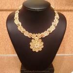 Light Weight Designer Floral Necklace