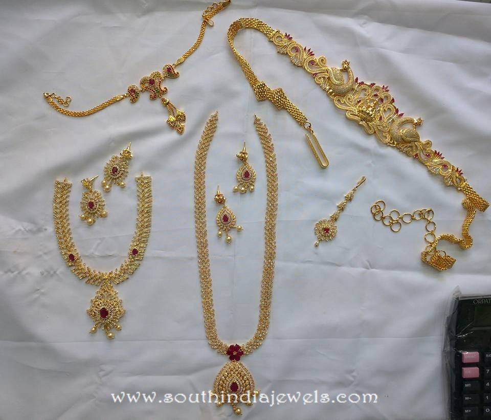 One Gram Gold Bridal Jewellery Sets from SVS