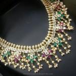 One Gram Gold Guttapuslau Necklace
