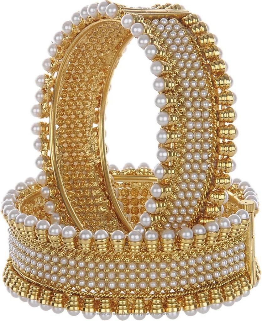 Pearl Imitation Bangle
