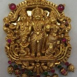 Temple Jewellery Pendant from Vijay Jewellers