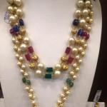 Gold Long Pearl Mala from PSJ