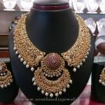 22k Gold Antique Necklace from Shyam Zaveri