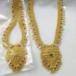 Artificial Gold Bridal Necklace Sets