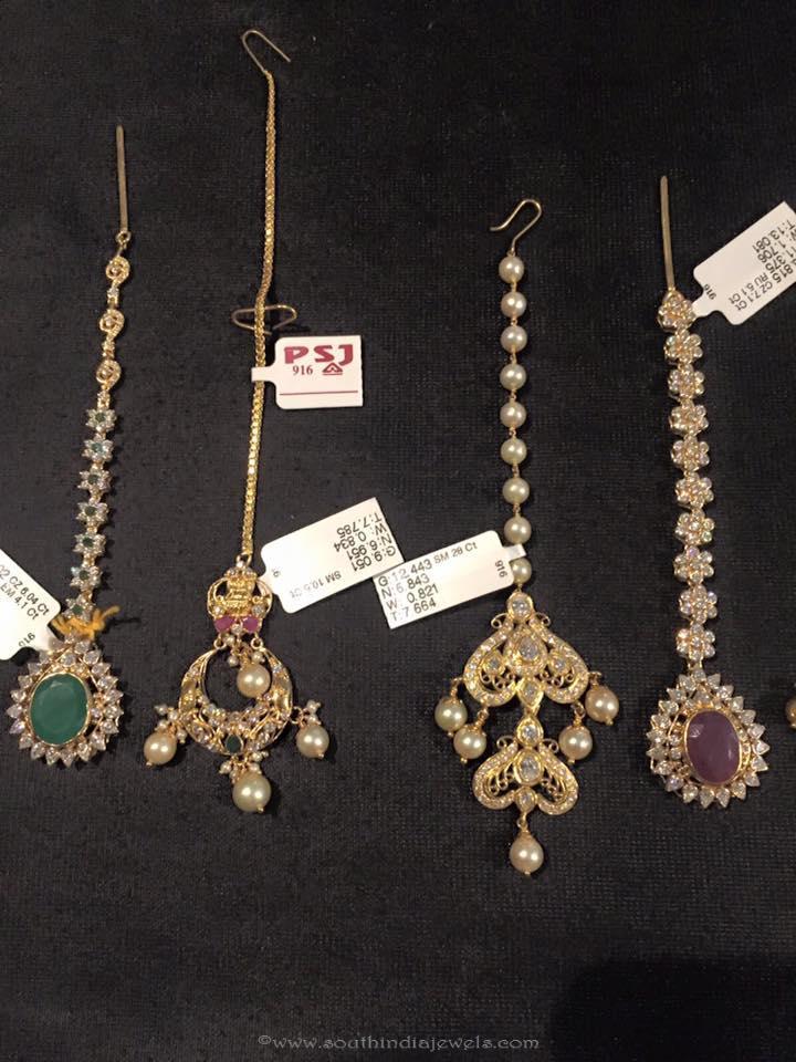 Bridal Gold Maang Tikka Designs