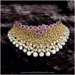 Bridal Choker Necklace From P Sathyanarayan & Sons
