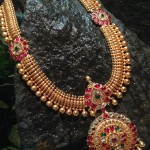 Broad Antique Long Haram from Queens Jewellery