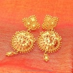 Classic Gold Earrings from Manubhai