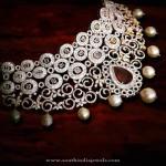 Diamond Choker Necklace from P.Sathyanarayan & Sons