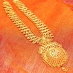 Gold Chandan Haar from Manubhai Jewellers
