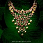 Gold Antique Necklace From P.Sathyanaryan & Sons