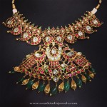 Gold Antique Short Mango Necklace from Parnicaa