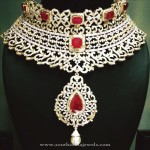 Heavy Bridal Driamond Necklace