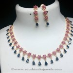 Imitation Blue Stone Necklace From RS Designs
