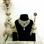 Indian Bridal Diamond Necklace from Parnicaa