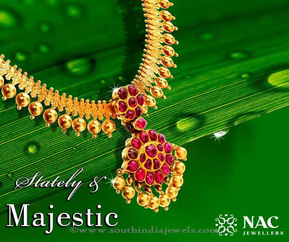 NAc Jewellers Marriage Necklace Design