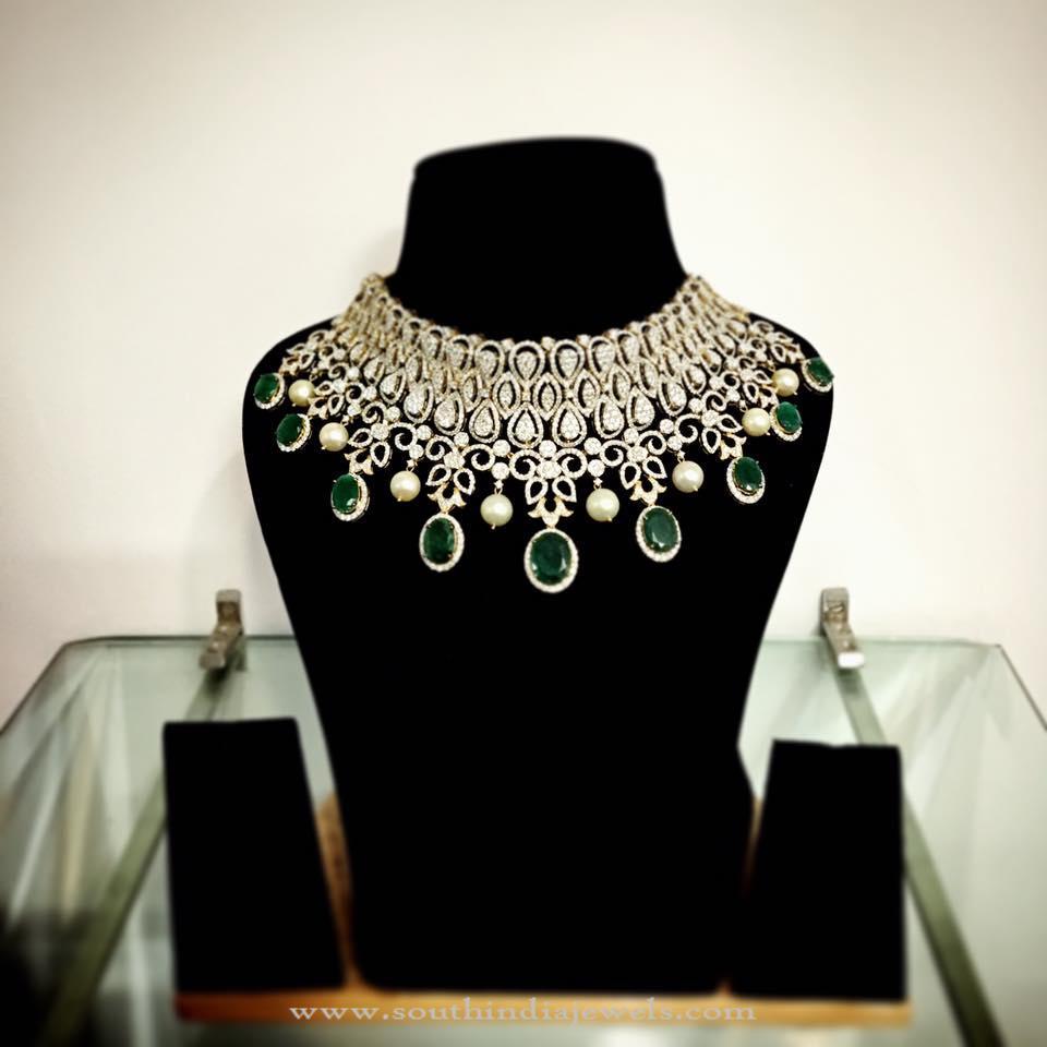 Parnicaa Jeweller's Diamond Choker