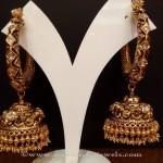 Uncut Diamond Jhumkas from NAJ
