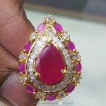 1 Gm Gold Ruby Ring With Price