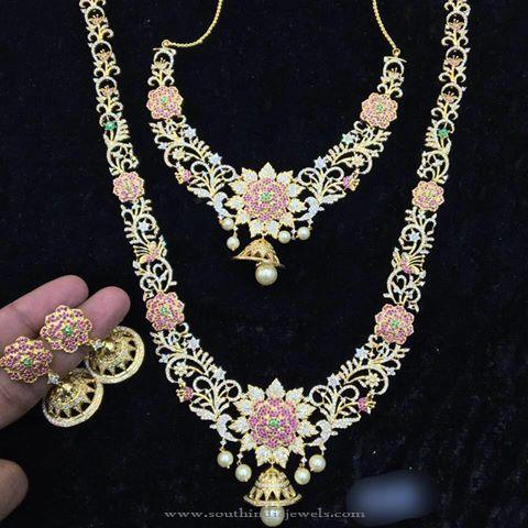 1 Gram Gold Plated Bridal Jewellery Sets