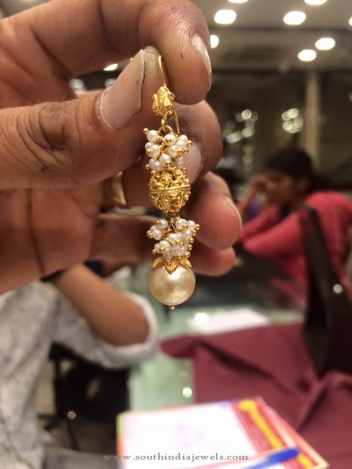 7 Grams Gold Hook Earring from PSJ
