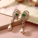 Diamond Sparkly Earrings From Manubhai