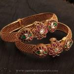 Latest Model Gold Kemp Bangle from Karpagam Jewellers