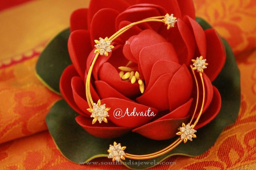 Gold Plated Ear Cuff from Advaita